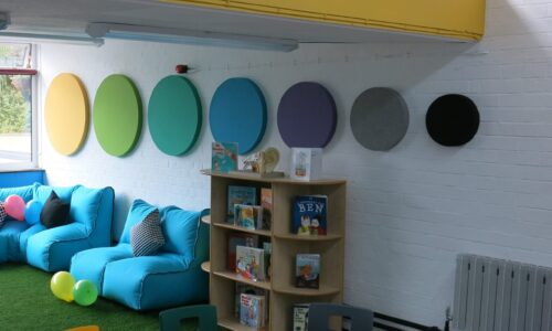 Echo Geo Panels Installed In A Play Area - Clearsound Acoustics