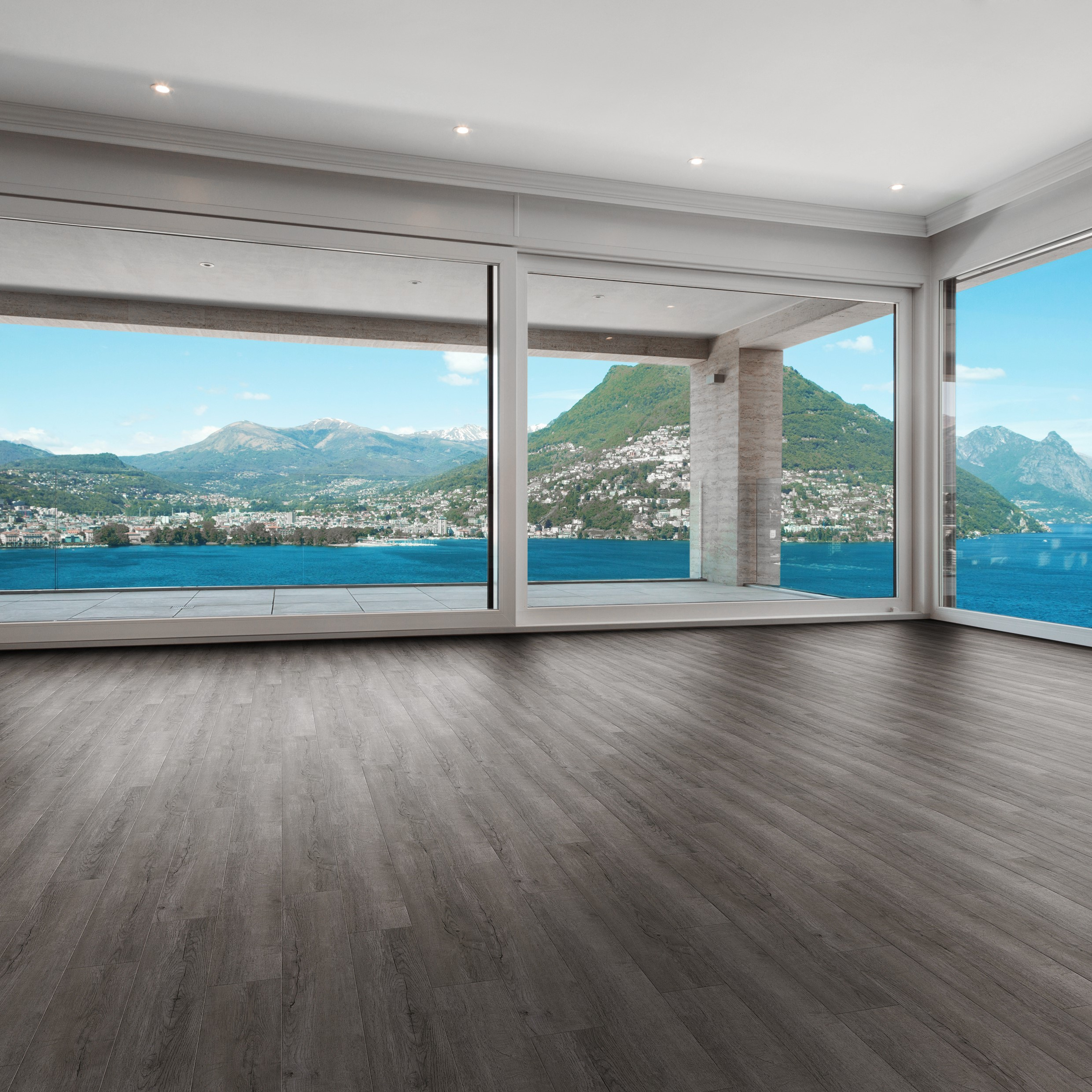 Luvanto Endure Pro LVT Smoked Charcoal