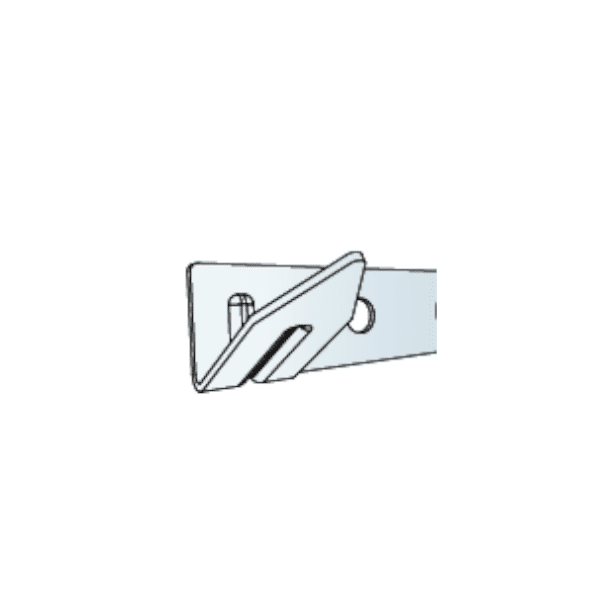 Ecophon Connect One Hook Fixing (pack Of 8)