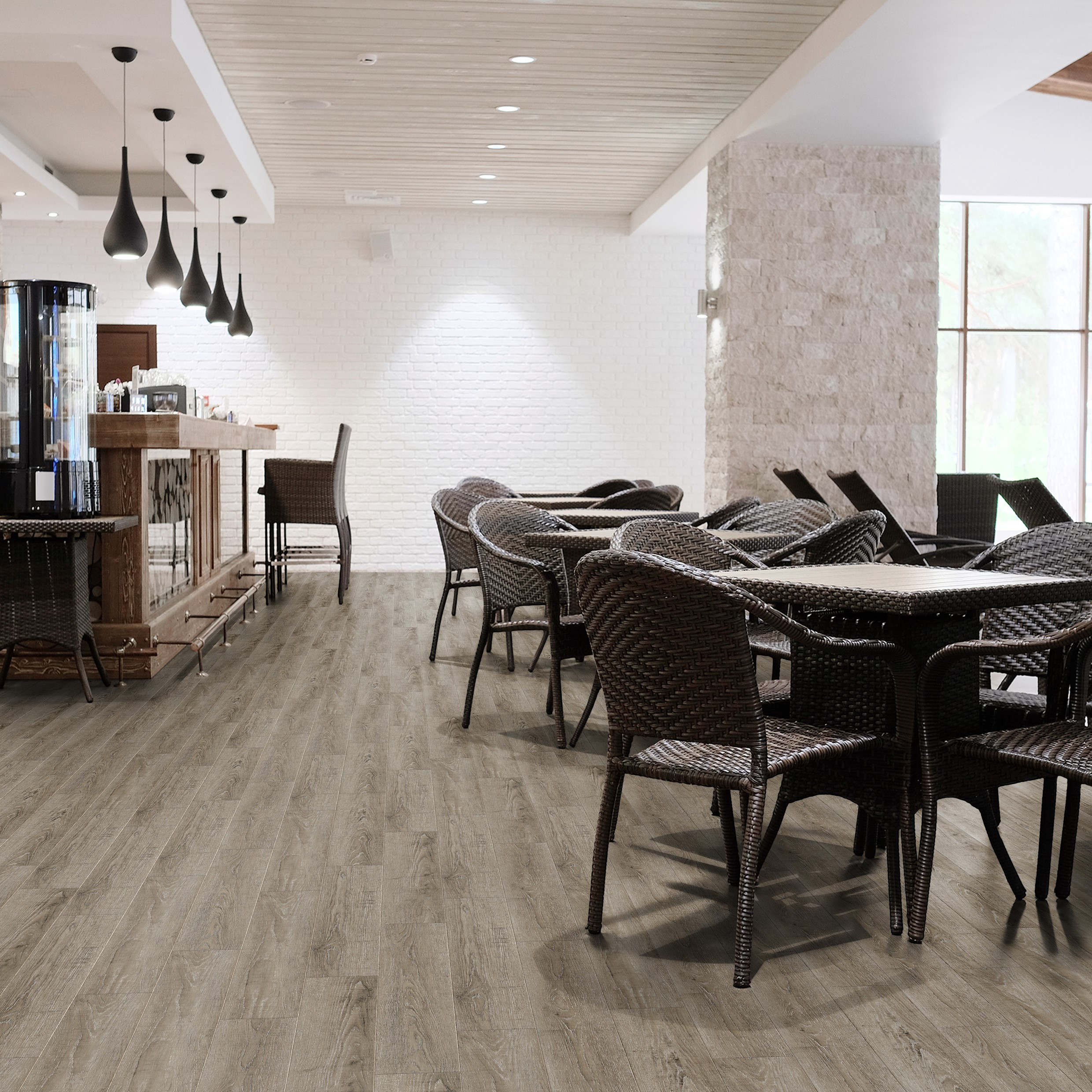 Luvanto Endure Pro LVT Reclaimed Oak