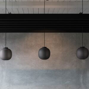 Acoustic baffles installation examples
