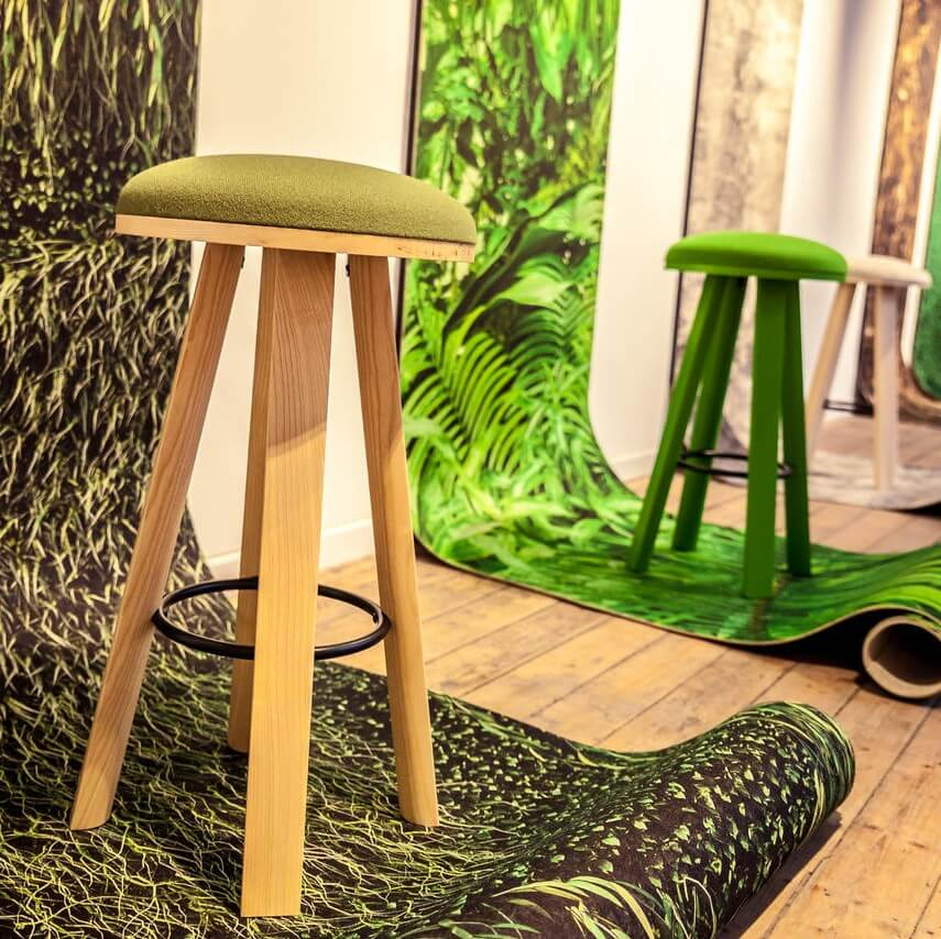 Buzziskin Printed Acoustic Wallpaper For Home Offices